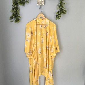 🌼 Billabong Floral Kimono